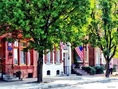 Photograph - Harrisburg Pa - Quiet Harrisburg Street by Susan Savad