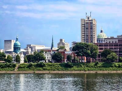 Photograph - Harrisburg Pa Skyline II by Susan Savad