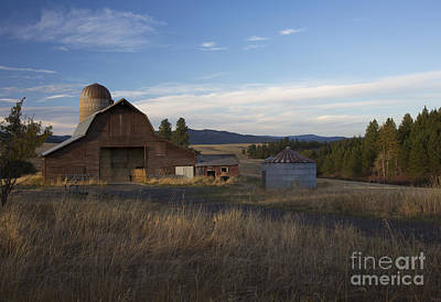 Photograph - Harrison Barn by Idaho Scenic Images Linda Lantzy