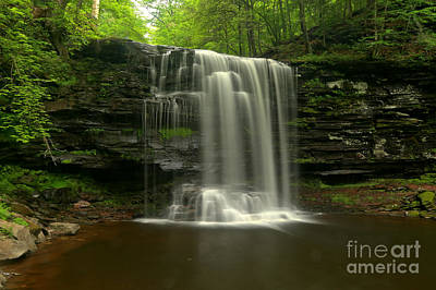 Photograph - Harrison Wrights Forest Falls by Adam Jewell
