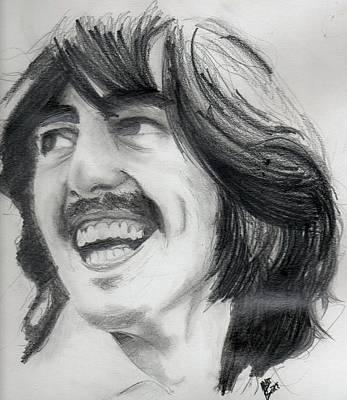 Harrison's Smile Art Print