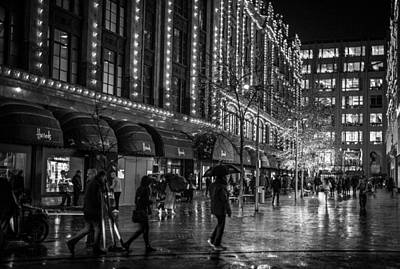Photograph - Harrods by Matt Malloy