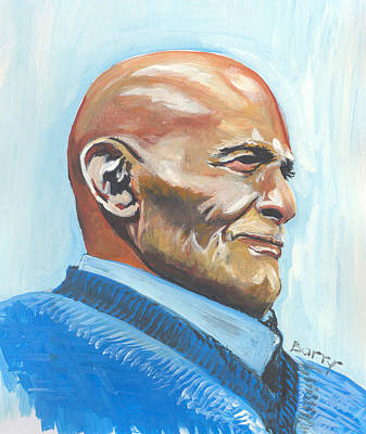 Painting - Harry Belafonte by Emmanuel Baliyanga
