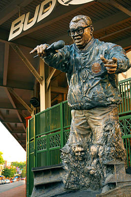 Photograph - Harry Caray by Anthony Citro