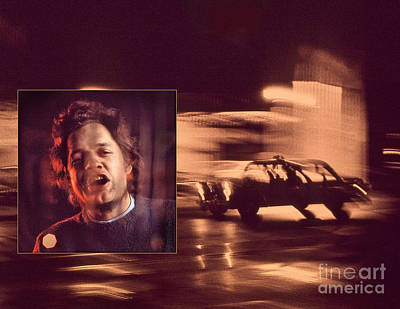Chapin Photograph - Harry Chapin - Taxi by Frank Bez