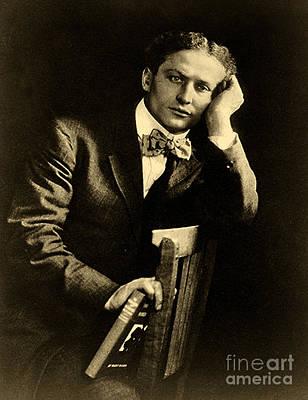 Harry Houdini Art Print