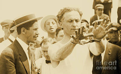 Harry Houdini Circa 1910 Art Print