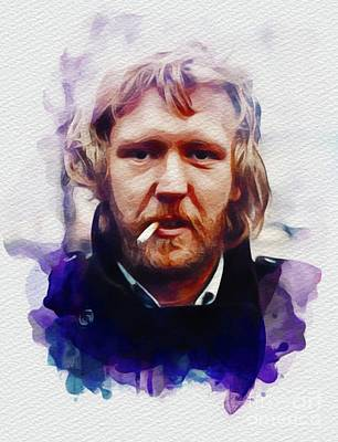 Music Royalty-Free and Rights-Managed Images - Harry Nilsson, Music Legend by John Springfield