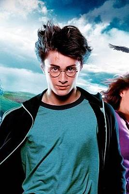 Hermione Granger Digital Art - Harry Potter And The Prisoner Of Azkaban Harry Potter Ron Weasley Hermione Granger Daniel Radcliffe Rupert Grint Emma Watson 96152 300x450 by Anne Pool