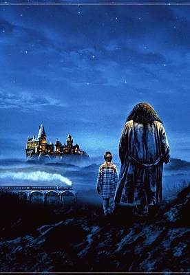 2001 Digital Art - Harry Potter And The Sorcerer's Stone 2001  by Fine Artist