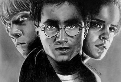 Harry Potter Fanart Art Print by Jasmina Susak