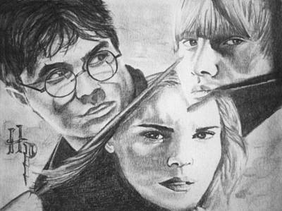 Harry Potter Print by Madelyn Mershon