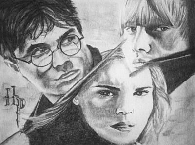 Harry Potter Art Print by Madelyn Mershon