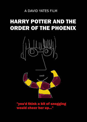 Harry Potter Phoenix Movie Poster Art Print