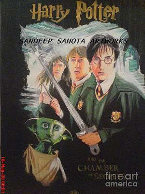 Kama Sutra Painting - Harry Potter by Sandeep Kumar Sahota