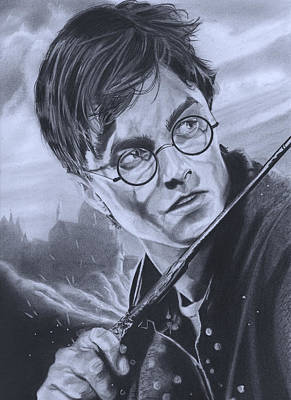 Deathly Painting - Harry Potter Year 7 by Robert Steen