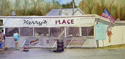 Scenic Drive Painting - Harry's Place by Katherine  Berlin