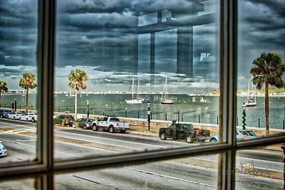 Photograph - Harry's Window by Joedes Photography