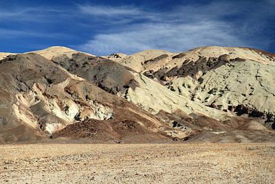 Harsh Landscape Of Death Valley Art Print