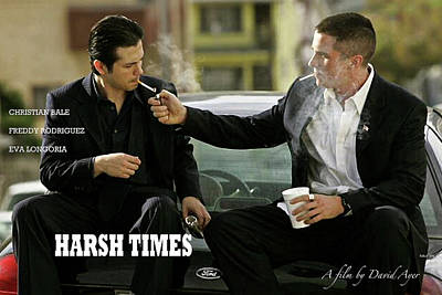 Harsh Times, Starring Christian Bale, Freddy Rodriguez And Eva Longoria Art Print by Thomas Pollart