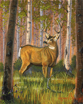 Hart Of The Forest Original by Jeff Brimley