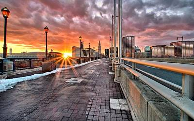 Photograph - Hartford At Sunset by Andrea Galiffi
