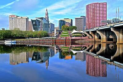 Photograph - Hartford Connecticut From The Park by Frozen in Time Fine Art Photography