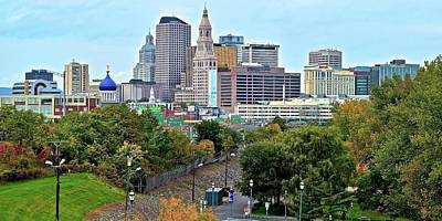 Photograph - Hartford Daytime View by Frozen in Time Fine Art Photography