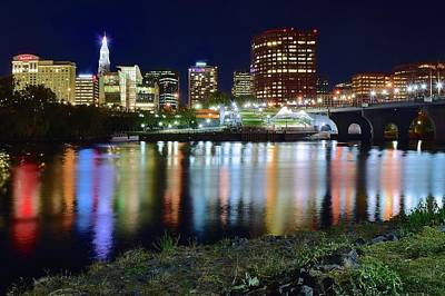 Photograph - Hartford From The Riverbank by Frozen in Time Fine Art Photography
