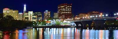 Photograph - Hartford Panorama by Frozen in Time Fine Art Photography