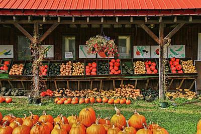 Photograph - Hartshorn's Organic Farm by Allen Beatty