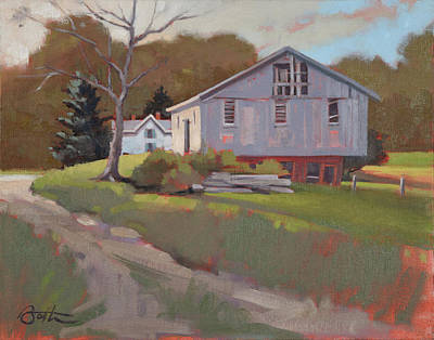 Painting - Hartville Barn by Todd Baxter