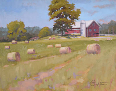 Painting - Hartville, Ohio Farm by Todd Baxter