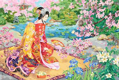 Painting - Haru No Uta by Haruyo Morita