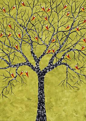 Painting - Harva Vriksh by Sumit Mehndiratta