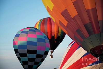 Photograph - Harvard Balloon Fest 13 by David Bearden