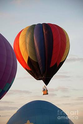 Photograph - Harvard Balloon Fest 2 by David Bearden