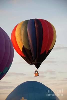 Photograph - Harvard Balloon Fest 2 by David Bearden