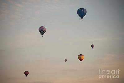 Photograph - Harvard Balloon Fest 5 by David Bearden