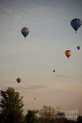 Photograph - Harvard Balloon Fest 7 by David Bearden