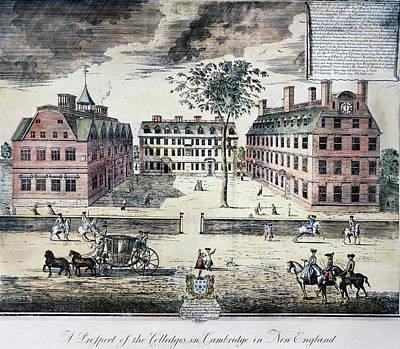Harvard College, C1725 Art Print by Granger