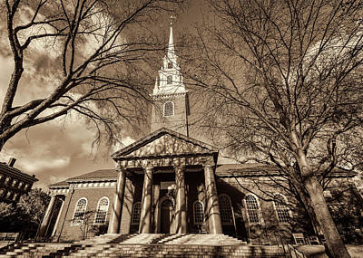 Harvard Wall Art - Photograph - Harvard Memorial Church by Stephen Stookey