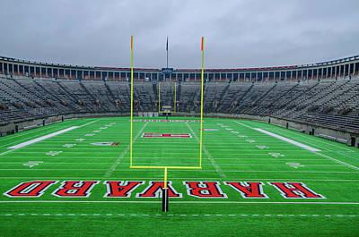 Soldier Field Digital Art - Harvard - Soldier Field by Bill Cannon