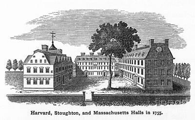 Harvard University, 1755 Print by Granger