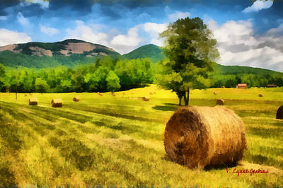 Harvest At Table Rock Art Print
