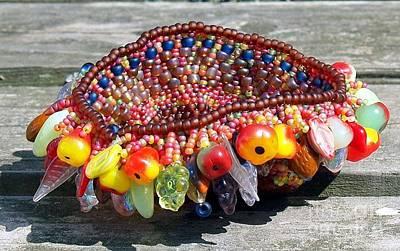 Sculpture - Harvest Basket by Patricia Griffin Brett