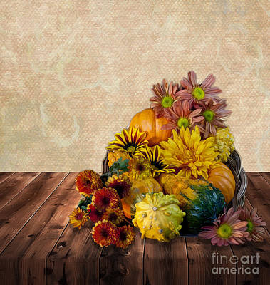Photograph - Harvest Bounty by Shirley Mangini