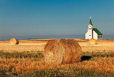 Photograph - Harvest Church by Todd Klassy
