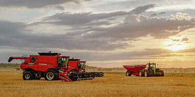 Photograph - Harvest Delayed by Rob Graham