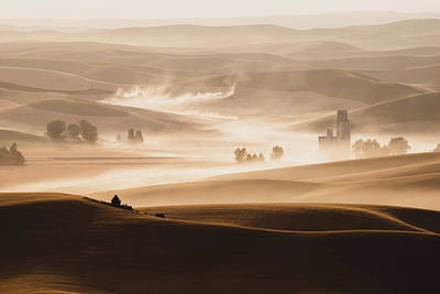 Photograph - Harvest Dust by Chris McKenna